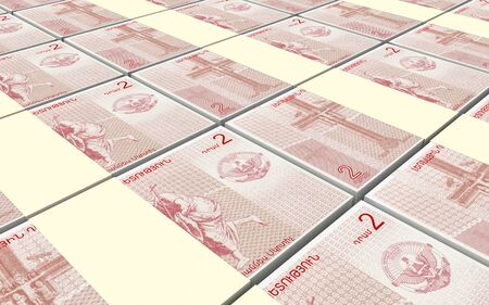 dram: Nagorno Karabakh dram bills stacked background. 3D illustration. Stock Photo