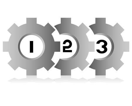 process diagram: Schema di processo di business, cambio modello di processo tema Vettoriali