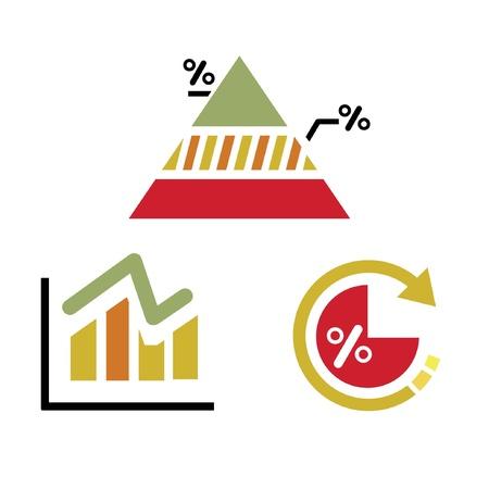 data analysis, graph, chart Stock Vector - 20959614