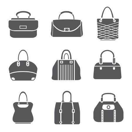 bag set, bag icons Stock Vector - 20959667