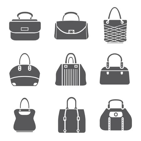 variety: bag set, bag icons