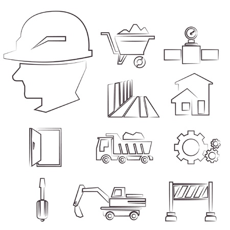 superintendent: juego de construcci�n dibujo lineal, set l�nea de boceto, dibujo de l�nea