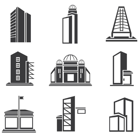 building set, building icons Stock Vector - 20959721