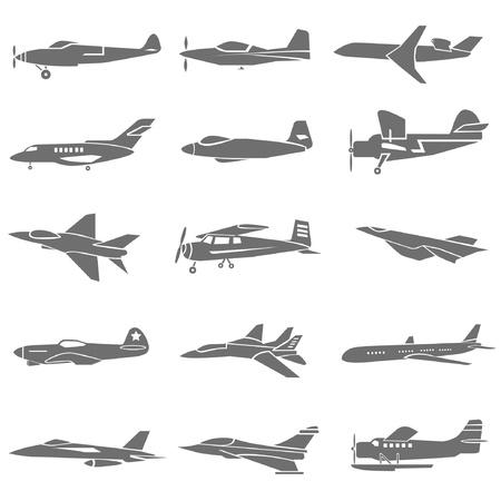 fighting plane Vector