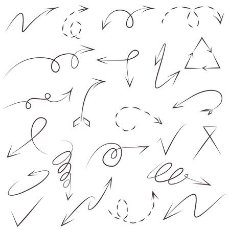 kink: sketch arrow symbol