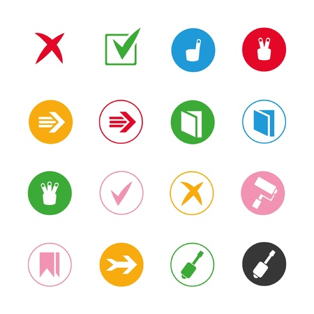 mart: list buttons, list icon
