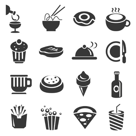 fod icons set Vector