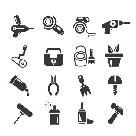 reamer: tools set Illustration