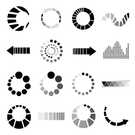 pre loader: loading icons set