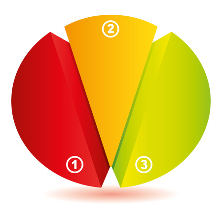 circle diagram Stock Vector - 22487978