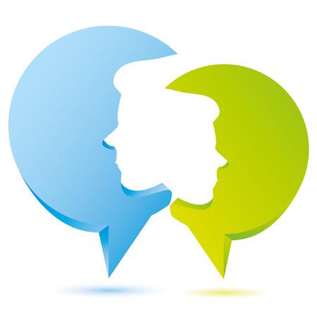 mention: speech talk