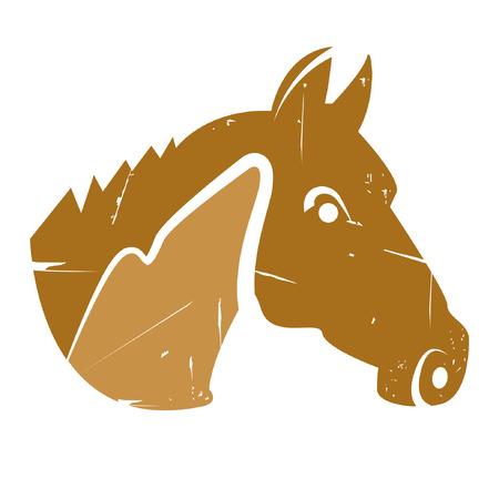 portly: horse