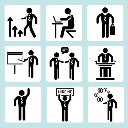 administración de empresas, gente de negocios