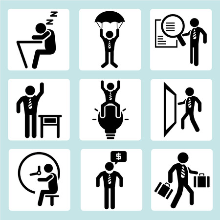 gestion documental: administración de empresas, gente de negocios