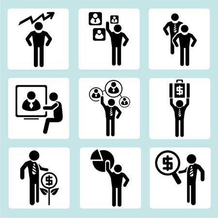 gestione aziendale, gli uomini d'affari