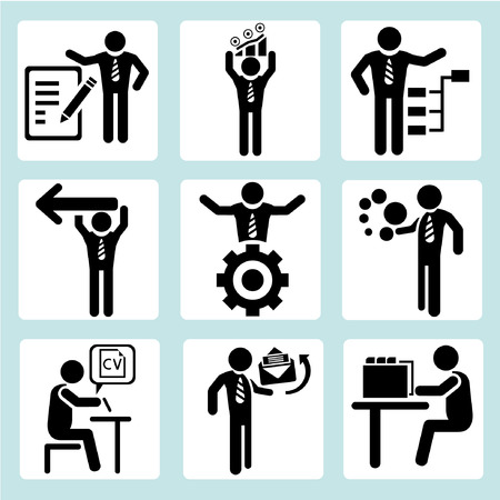 business management, business people Stock Vector - 22666294