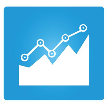increase diagram: graph, stock market