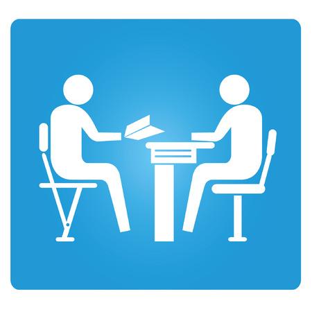 üzleti tanácsadó Illusztráció