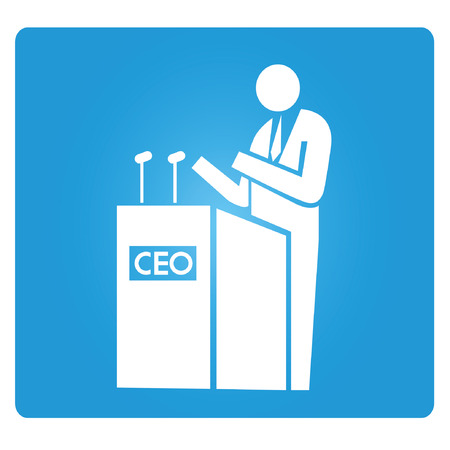 ceo: CEO, chief executive officer Illustration