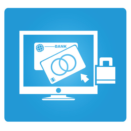 e money: banking online, banking service Illustration