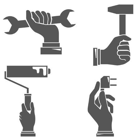 clench: hands Illustration