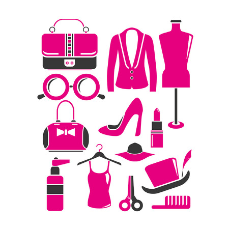 fad: fashion set, pink concept