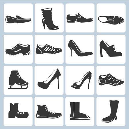 schoenen pictogrammen