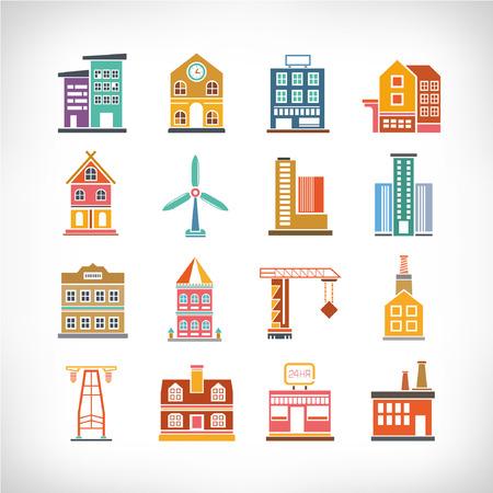 Aranyos gyűjteménye város, város épületek