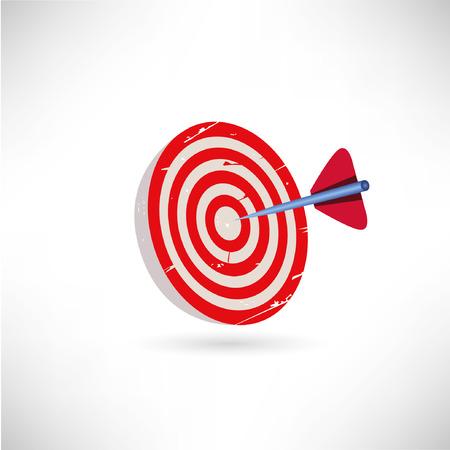 dart on target: dart, target symbol