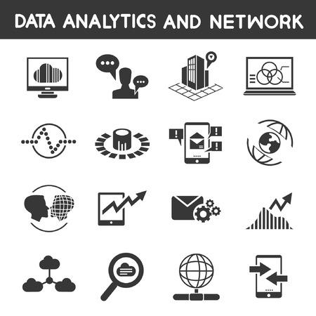 analytic: data analytic icons