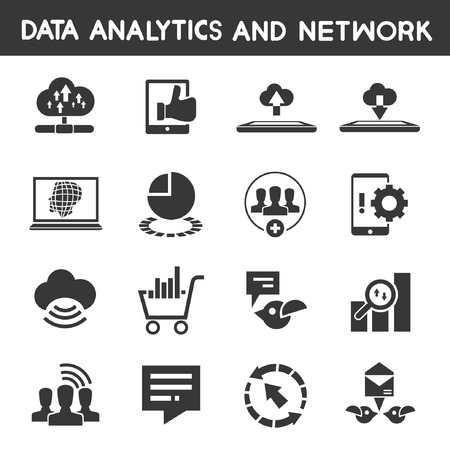 observations: data analytic icons