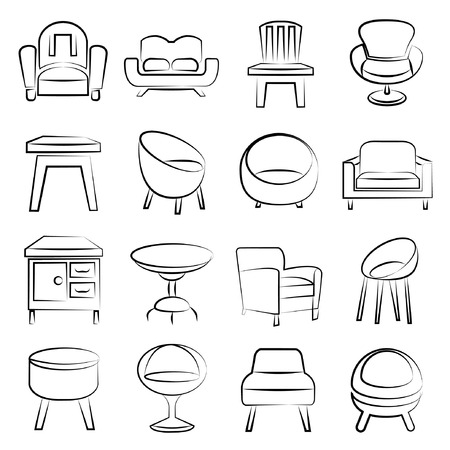 Stuhl icons