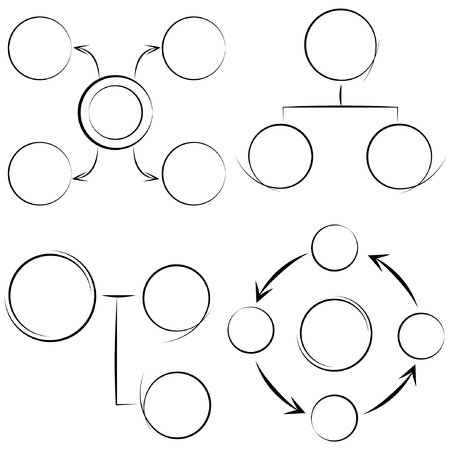 describe: sketched diagram Illustration