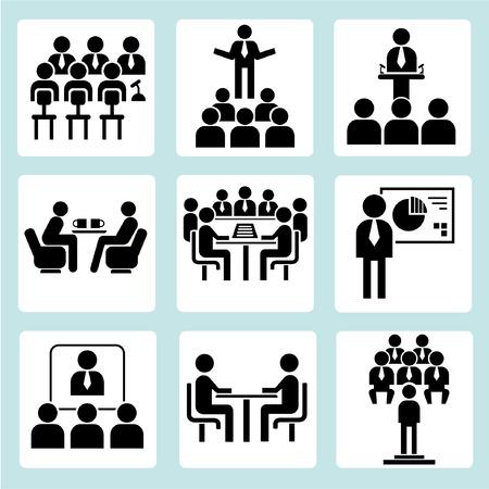 parley: Iconos de reuniones