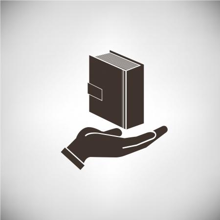 geschrift, boek Stock Illustratie