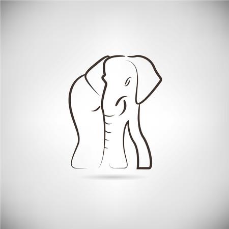human mascot: elephant