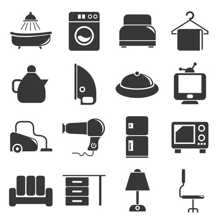 house hold icons Vector