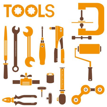 hone: tools Illustration