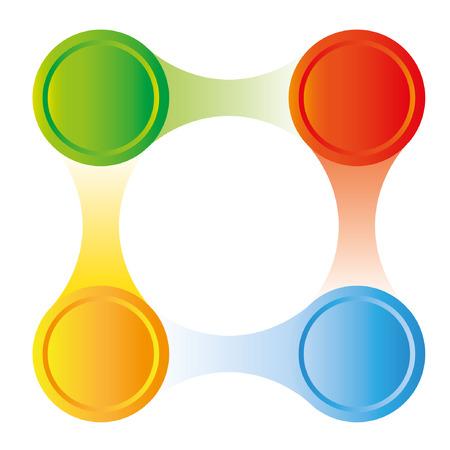 process diagram: presentation template, process diagram