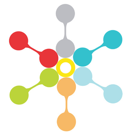 mind map: presentation template, mind mapping Illustration