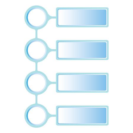 process diagram: Schema di presentazione, diagramma di processo Vettoriali