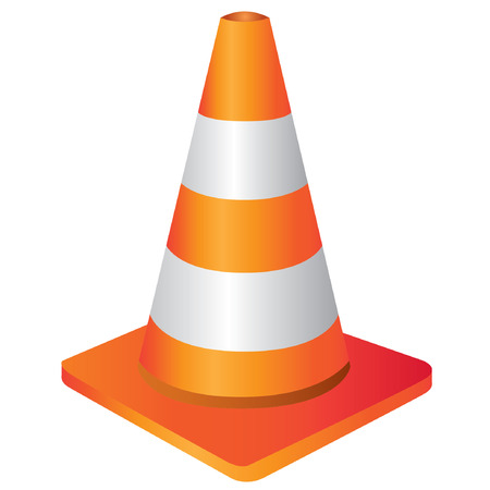 traffic cone: construction cone, traffic cone sign