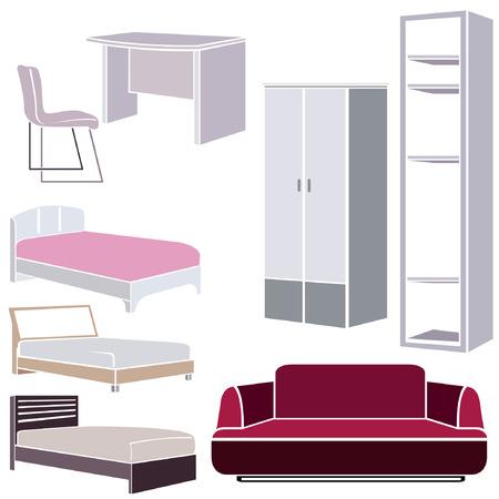 davenport: interior design icons, furniture set