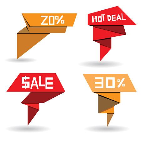 pop up: pop-up verkoop stickers