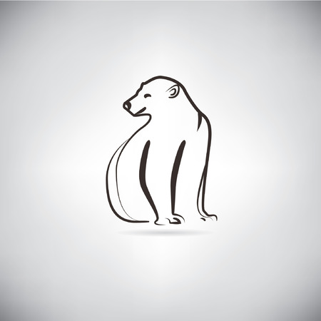 thin ice: polar bear sketched concept