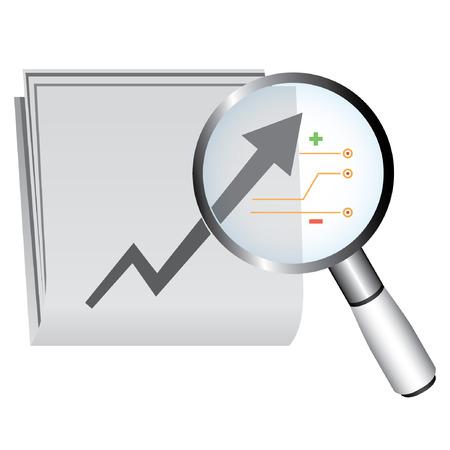 estimation: data analysis concept, business analysis