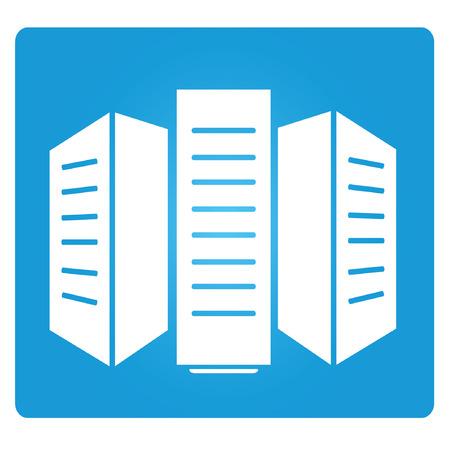 hard drive: data storage symbol