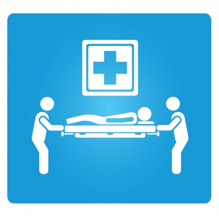emergency room: emergency service symbol