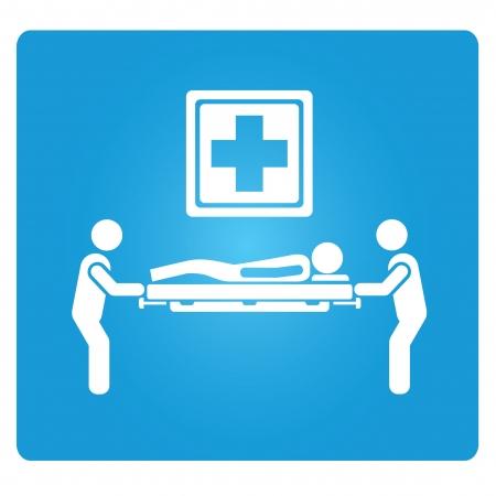 intensive care: emergency service symbol