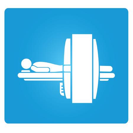 medische tech symbool Stock Illustratie